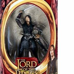 Lord Of The Rings Two Towers Action Figure Helms Deep Aragorn