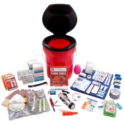Guardian Survival 2 Person Deluxe Bucket Office Survival Kit