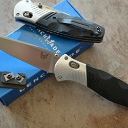 Benchmade 581 Barrage Assisted Opening Knife W/ Free Benchmade Mini Sharpener