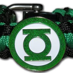 The Green Lantern Special Edition With Adjustable Stainless Steele Shackle