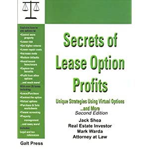 Lease Option Book Forms CD