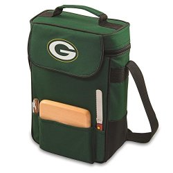 Green Bay Packers 2 Bottle Wine Tote Cooler Bag
