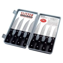 Slitzer 9 Professional German Style Jumbo Steak Knives