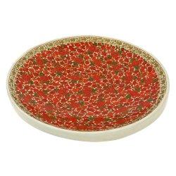Colorful Fruit Serving Platter Tray Paper Mache Hand Painted Arts Kashmir