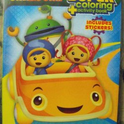 Team Umizoomi 144Pg Coloring And Activity Book With Stickers.