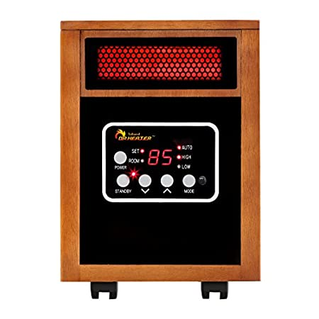 Dr968 Infrared HeaterView larger Dr. Infrared Heater Dr968 Same Wattage, More Heat 255F@3.2m/s Vs 150F@2.4m/s Save Big On Your Heating Bills Dr. Infrared Heater, newly engineered and designed in the US, is one of the best alternative and ...