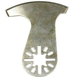 Curved-Edge Knife Scraper Oscillating Saw Blade