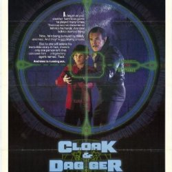 Cloak And Dagger Poster Movie (27 X 40 Inches - 69Cm X 102Cm) (1984)