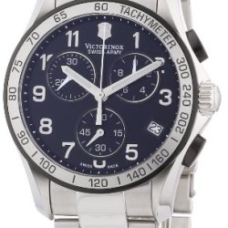 Victorinox Swiss Army Men'S 241403 Chrono Classic Chronograph Black Dial Watch