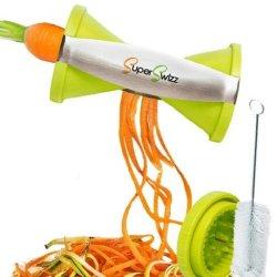 Best Spiral Slicer:Stainless Steel Vegetable Spiralizer,Japanese Blades,2 Julienne Sizes Spiral Cut