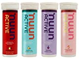 New Nuun Active: Hydrating Electrolyte Tablets, Juicebox Mix, Box of 4 Tubes