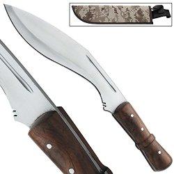 Full Tang Congolian Jungle Hunting Kukri Hand Forged Machete