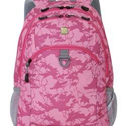Swissgear 18-Inch Backpack, Camo Pink (Sa6621.B)
