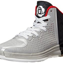 Adidas Performance Men'S D Rose 4 Basketball Shoe, Light Onix/White/Black, 9.5 M Us