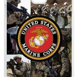 Lilichen Forever Collectible Usmc Marine Corps Case Cover For Samsung Galaxy Note4 (Laser Technology) -- Desgin By Lilichen