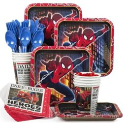 Spider-Man Party Supply Standard Kit (Serves 8)
