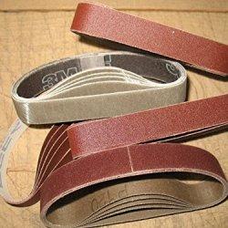 "Econaway Abrasives 1/2X12"" Twenty-Five Piece Belt Assortment"