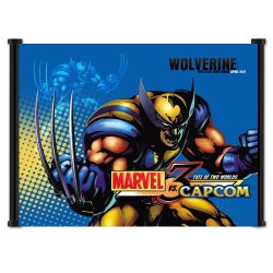 Marvel Vs Capcom 3 Game Fabric Wall Scroll Poster (19X16) Inches