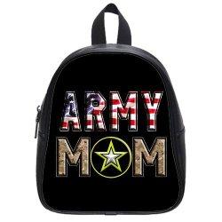 Jdsitem American Flag Army Star Camouflage Camo Design Size S Backpack School Bag Satchel