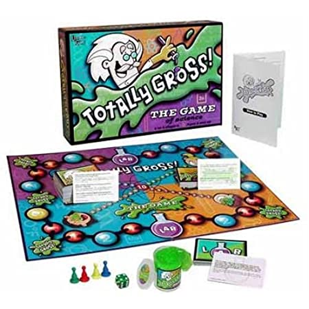 A dose of gross helps science make sense! Full of amazing facts about our wonderful world, Totally Gross helps kids adsorb and understand all the major scientific disciplines. How? We know the secret: science is really fun… and gross!Kids travel arou...