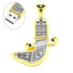 Oman Metal Knife Shaped 16Gb Usb Flash Drive