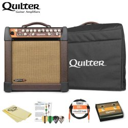 Quilter Micropro 200 10-Inch Speaker Guitar Combo Amp W/ Accessories & Amp Bag