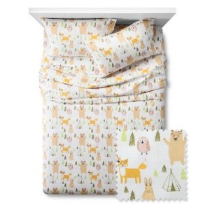 Woodland-Whimsy-Sheet-Set-Pillowfort-Twin