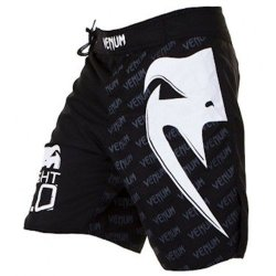 Venum Light 2.0 Fight Shorts, Black, Medium