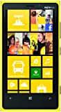 Nokia Lumia 920 Smartphone (11,4 cm (4,5 Zoll) WXGA HD IPS LCD Touchscreen, 8 Megapixel Kamera, 1,5 GHz Dual-Core-Prozessor, NFC, LTE-fähig, Windows Phone 8) gloss yellow