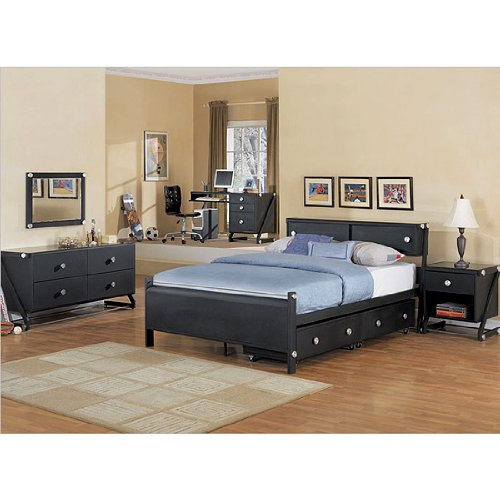 Image of Z-Bedroom Kid's Set (Full) by Powell Furniture (354-set 354-045)