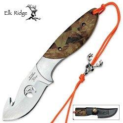 Elk Ridge Ep-003Ca Professional Gut Hook Knife, 7-Inch Overall