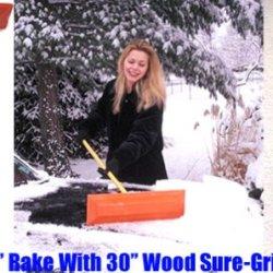 "Sno Rake - Model #103 - 12"" Rake/30"" Wood Handle"