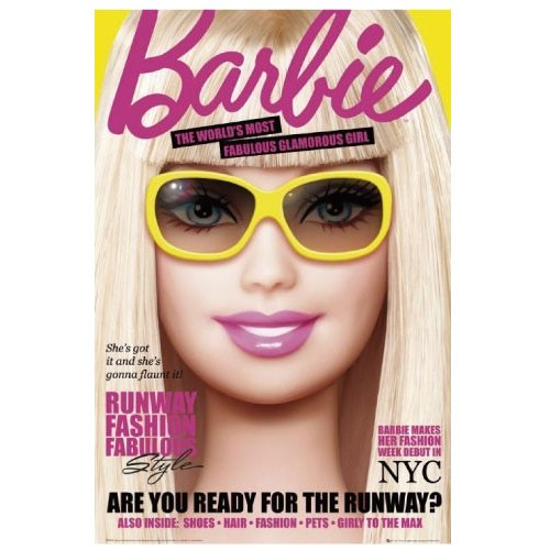 Barbie/magazine バービー ポスター