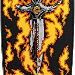 Tommy Guerrero Flaming Dagger Skateboard Gold Black