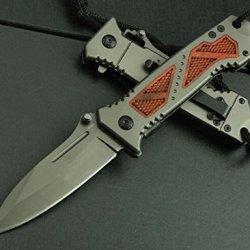 Sharp Saber Camping Fishing Hunting Pocket Folding Knife Blnda53-8.58''