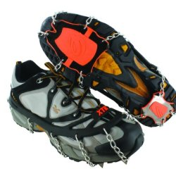 Yaktrax Xtr Extreme Outdoor Traction (Black/Orange, Large)