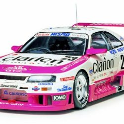 1/24 Nismo Clarion Gt-Rlm95