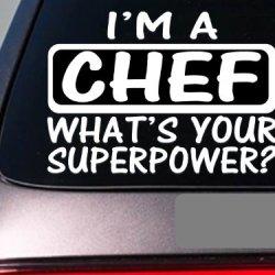 I'M A Chef Sticker Decal *E161* Cook Knives Steak Cookware