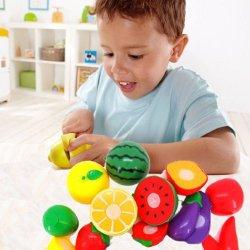Susenstore 1 Set Cutting Fruit Vegetable Pretend Play Children Kid Educational Toy