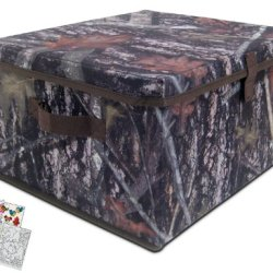 Neat-Oh! A1762Xx True Timber Camouflage Storage Bin With Coloring Book