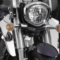 National Cycle Switchblade Chrome Lower Deflectors N76602
