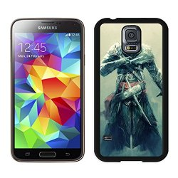 Diy Assassins Creed Revelations Desmond Miles Fan Art Equipment Knifes Samsung Galaxy S5 I9500 Black Phone Case