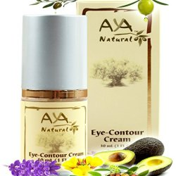 Best Eye Cream For Dark Circles - Save Big Today! - Luxury Top Quality Premium Natural Vegan Anti Aging Eye Contour Lotion - Shea Butter, Jojoba Oil & Pure Extra Virgin Olive Oil Blend - Under Eye Effective Treatment To Diminish Signs Of Fatigue (Eye Bags