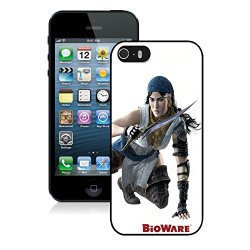 Diy Dragon Age 2 Girl Arm Knife Shoes Iphone 5 5S 5Th Black Phone Case