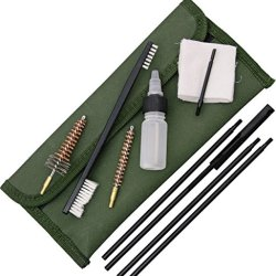 Abkt Tac Official Issue Single Caliber Gun Cleaning Kit 7.62Mm Olive Drab Green Ab0036