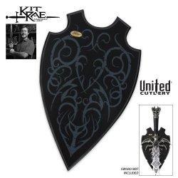 United Cutlery Kr0062 Kit Rae Universal Sword Plaque