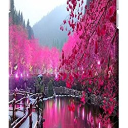 "Fantastic Faye Case / Cover Satura Pink Spring Flower Cherry Blossoms Special Design Distinctive Unusual Cell Phone Cases For Iphone 6 (4.7"") Hard Cases No.9"