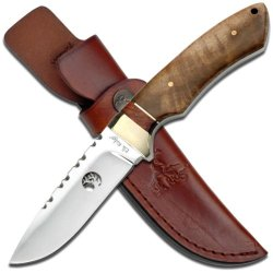 Elk Ridge Er-304Wd Fixed Blade Knife, 8.5-Inch Overall