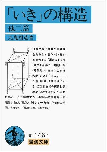 「いき」の構造 他二篇 (岩波文庫)