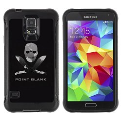 Tiktaktok Armor Defend Case Cover For Samsung Galaxy S5 - Point Blank Machete Face